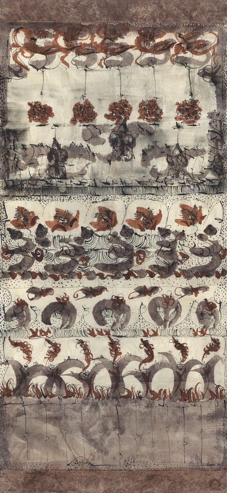 Dessin Kakémono de Catherine Vanier 2013-2014